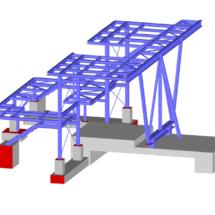 Pomosty robocze –Shell Rheinland Raffinerie